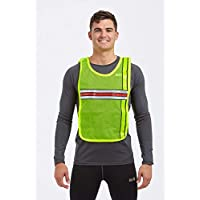 Time to Run High Visibility Reflective Running Bib Vest-3 Colour