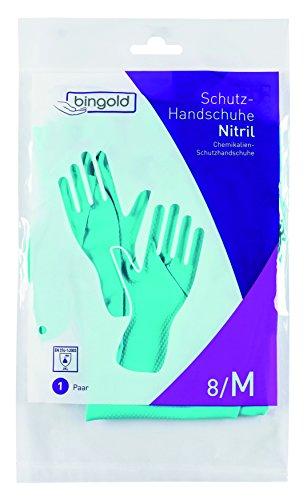 Nitril-Handschuhe Mehrweg-Handschuhe grün 144 Paar
