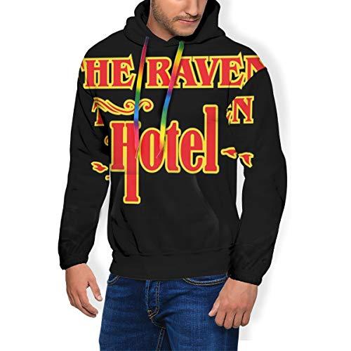 Altered Carbon Raven Hotel, Trucker Cap Herren Fashion Sweatshirt Hoodie Pullover Taschen Plus Samt Gr. XX-Large, Schwarz (Cap Xxl Ravens)