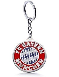 Official Soccer Team Football Club Logo Metal Pendant Keychain (FC Bayern Munich)
