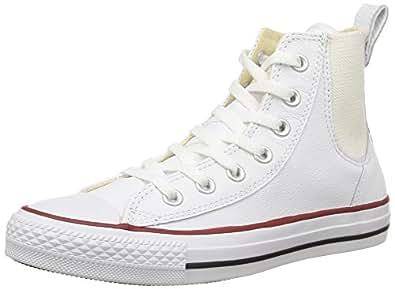 Converse Ctas Chelsee Hi, Sneakers Hautes femme, Blanc, 36 EU