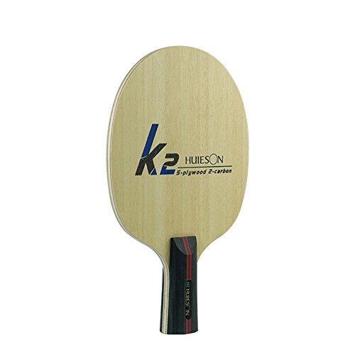 UNLOCKGIFT K7arylate-Carbon Tischtennis Paddel Ping Pong Schläger Baseboard