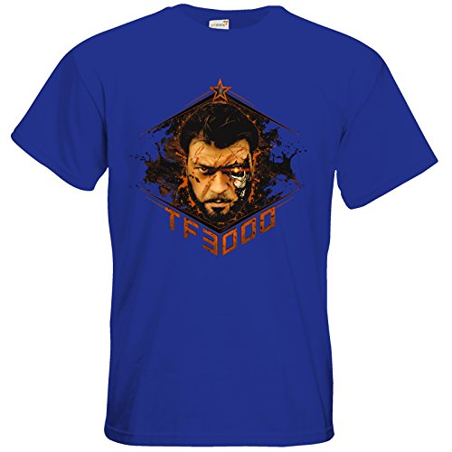 getshirts - Tobinator Official Merchandise - T-Shirt - TF3000 Royal Blue