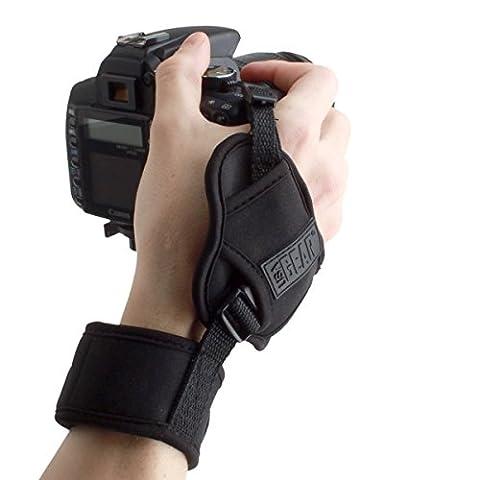 USA Gear Dragonne Grip Sangle Poignet Rapide Appareils Photo Numériques Réflex et Bridge - Bracelet Pour Canon EOS 700D , 100D / Nikon D3300 , D5300 / Pentax Et Plus -