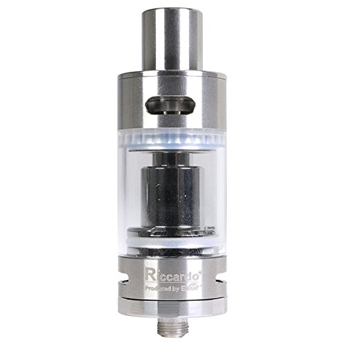 Riccardo Melo 2 Clearomizer 4,5 ml, Durchmesser 22 mm, Eleaf Verdampfer für e-Zigarette, 1 Stück