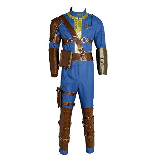 utfit Jumpsuit Uniform Cosplay Kostüm Herren L ()