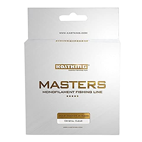 KastKing Masters Tournament Grade Monofilament Fishing Line - Pro Series Mono Line Premium Fishing Line - Super Smooth Casting, Abrasion Resistant, and Superior Strength -Award Winning