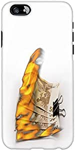 Snoogg Burning Euro Zjgf Designer Protective Back Case Cover For Apple Iphone...