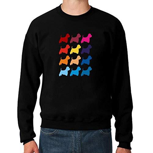 Idakoos Colorful West Highland White Terrier Sweatshirt M West Highland Terrier Sweatshirt