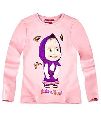 Mascha i Medwed Mädchen Langarmshirt 2016 Kollektion - rosa
