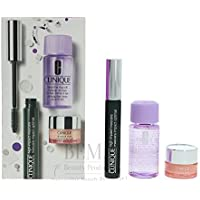 Clinique Geschenkset 7ml High Impact Mascara - Black + 5ml All About Eyes Augencreme + 30ml Make-Up