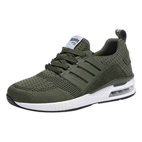 Xmiral Uomo Scarpe Sportive Running Comode Sneakers Primavera-Estive Uomo Scarpe da Ginnastica Scarpe Sportive da Corsa 42 verde