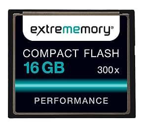 Extrememory EXMECF16G300 Performance CompactFlash 16GB Speicherkarte 300x