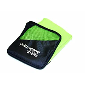 41Lc0BTIYKL. SS300  - Yellowstone Quick Dry   Outdoor Bath Towel available in Green -