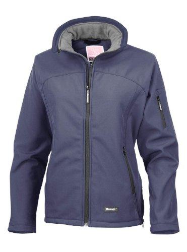 Result–Damen Soft Shell Jacke Blau