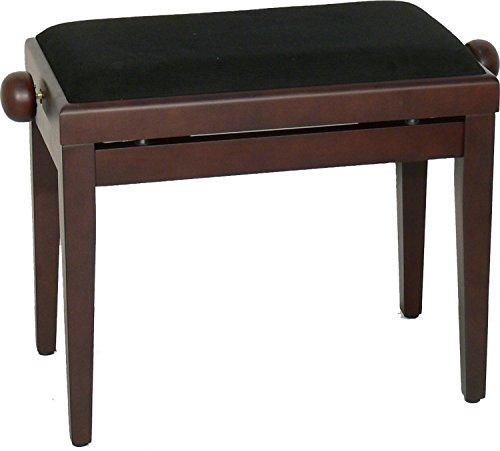 Steinbach Klavierbank höhenverstellbar in Rosenholz matt Hebemechanik wechselbarer Sitzbezug. Die Sitzauflage ist nach dem Kauf wählbar. Updn