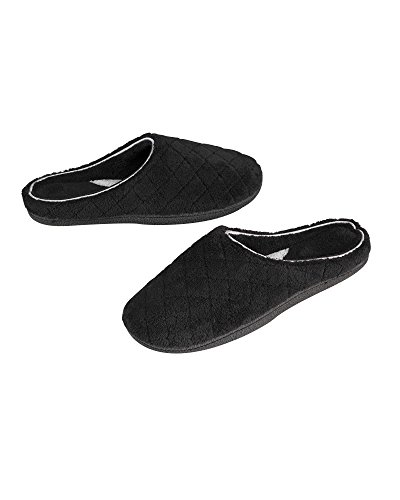 Dearfoams Nero Pantofole Un Formato Donna SqSrUf