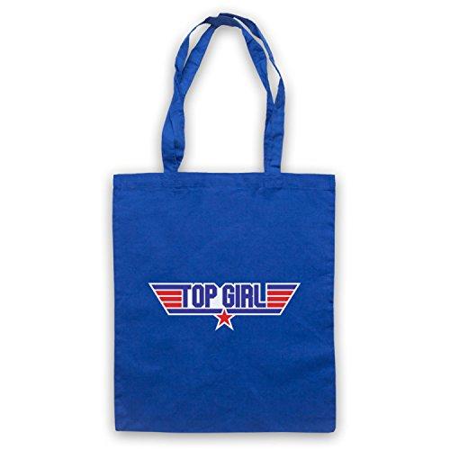 Top Girl Parody Logo Umhangetaschen Blau