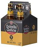 Estrella Galicia Cerveza Especial Sin Gluten - Paquete de 4 x 330 ml - Total: 1320 ml