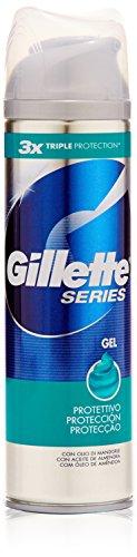 Gillette - Series Gel Protettivo, con Olio di Mandorle - 200 ml