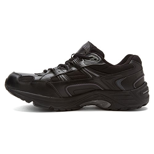 Vionic Women's Walker Classic Shoes, 10 2E US, Black Black
