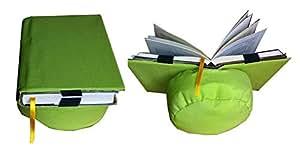 Support pour livres pour lire au lit coussin de lecture belenci vert fournitures - Fauteuil pour lire au lit ...