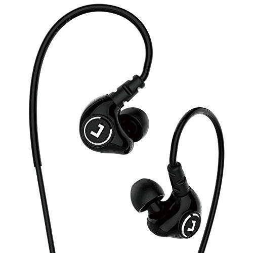 Jayfi JET-830 Geräusch-Isolierung Stereo Ohrhörer In-Ear-Kopfhörer Erinnerungsohrhaken mit Draht