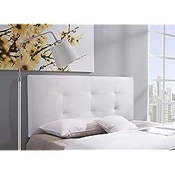 Cabezal tapizado Carla 150X60 Blanco