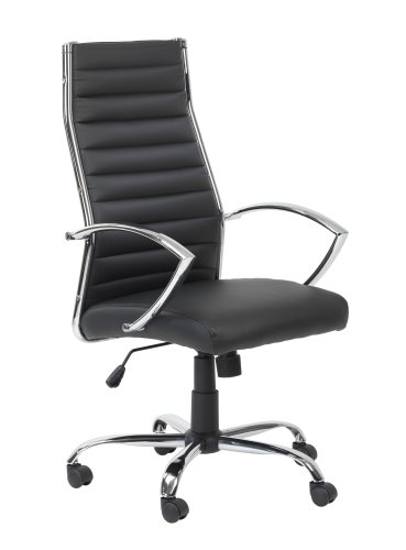 hartford-executive-chair-fixed-armrests-chrome-base-and-arms-black-faux-leather