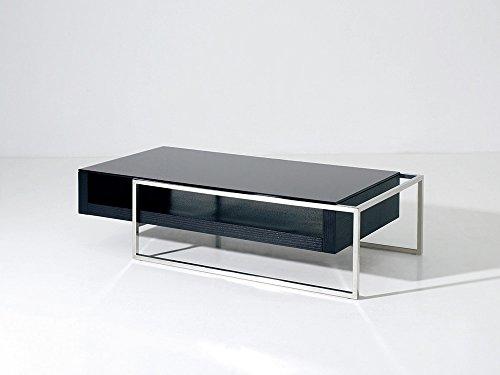 Habitat et Jardin - Table Basse Julie - 130 x 63.8 x 33.7 cm - Noir