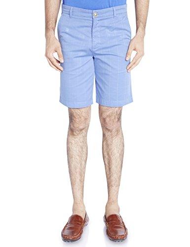 Raymond Medium Blue Checkered Men's Short