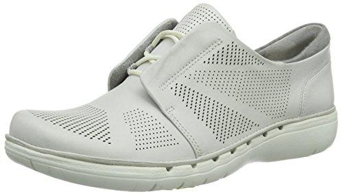 Clarks Un Voltra  Damen Sneakers Weiß (White Leather)