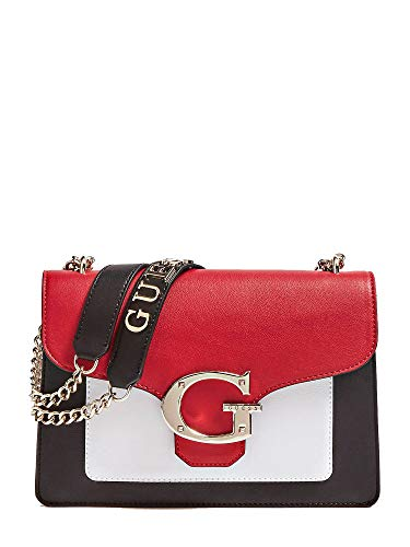 Guess CAMILA CONVERTIBLE XBODY FLAP RML RED MULTI