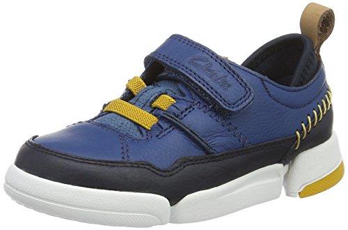 Clarks Jungen Tri Scotty Inf Low-Top Blau (Blue Combi)