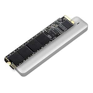 Transcend JetDrive 520 SSD interne pour MacBook Air 480 Go SATA III (Kit avec boîtier externe USB 3.0, étui et tournevis)