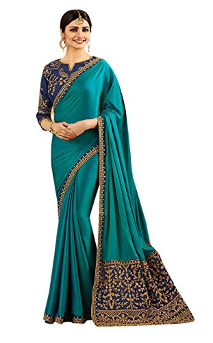 Florence Embroidered Silk Saree With Blouse(FL-S4S-19)