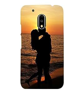 Lovely Romance 3D Hard Polycarbonate Designer Back Case Cover for Motorola Moto G4 :: Motorola Moto G (4th Gen)