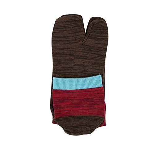 Preisvergleich Produktbild Black Temptation Zwei-Zehen-Socken im japanischen Stil Kimono-Stil Zehensocken, 03