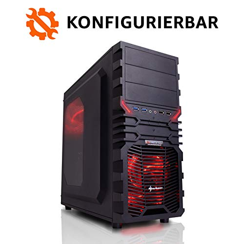 dercomputerladen Gaming PC Intel - wählbar bis Intel i9-9900K, 32GB DDR4-3000, RTX2080Ti, 1TB SSD, 4TB HDD, Win10 Pro, Bundle-Option, Spiele Computer Rechner Konfigurator 3