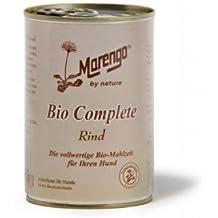 6 x Marengo Hunde Feuchtnahrung in der Dose Bio Complete 400 g 400 g, Nassfutter, Hundefutter
