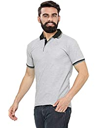 Vivi Polo T-Shirt with Contrast Collor in Stylish Pattern for Men