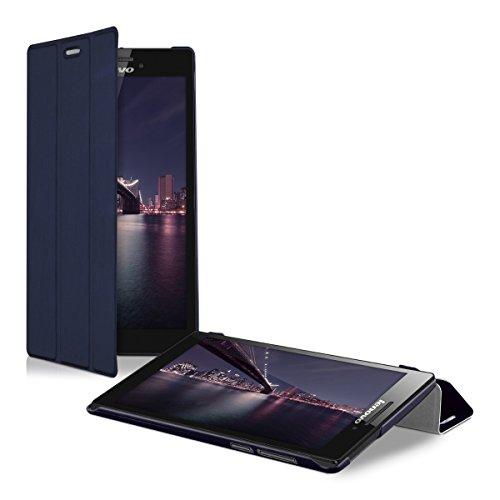 kwmobile 28102.17 Funda para Tablet Libro Azul - Fundas para Tablets (Libro, Lenovo, Tab 2 A7-10, 68 g, Azul)
