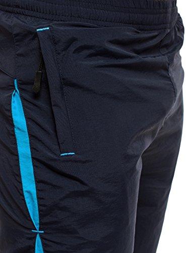 OZONEE Herren Hose Shorts Kurzhose Sporthose Cargoshorts Freizetshorts Jogginghose Bermudas HOT RED WK20 Dunkelblau
