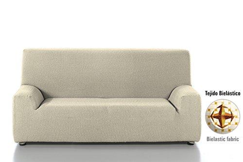 Casa Textil Edir - Funda para sofá, 4 plazas, color beige