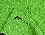 """STRYVE Towell V2 + Sporthandtuch mit Tasche und Magnetclip, in 7 Farben - Bekannt aus """"Die Höhle der Löwen"""" (Neon Grün) Bild 5"""