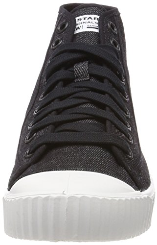 G-STAR RAW Rovulc Mid, Baskets Hautes Homme Noir (Black 990)