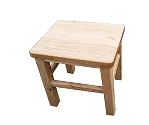 sgabello in legno Sgabello in legno massello, Panca/Panca in legno ...