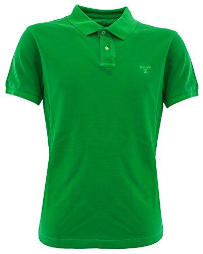 262100324 Gant Polo vintage Verde L Uomo