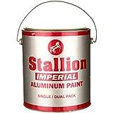 Imperial Aluminium Paint (Silver, 4 Litre)