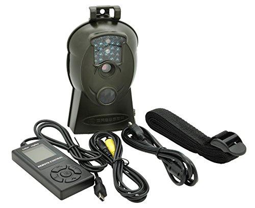 Bresser Wildkamera 10 Megapixel, HD-Video, SD-Slot, Infrarotbeleuchtung, 60 Grad Blickfeld